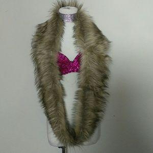 Faux Fur neck scarf wrap